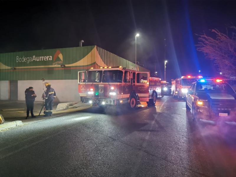 Movilización de emergencia por connato de incendio