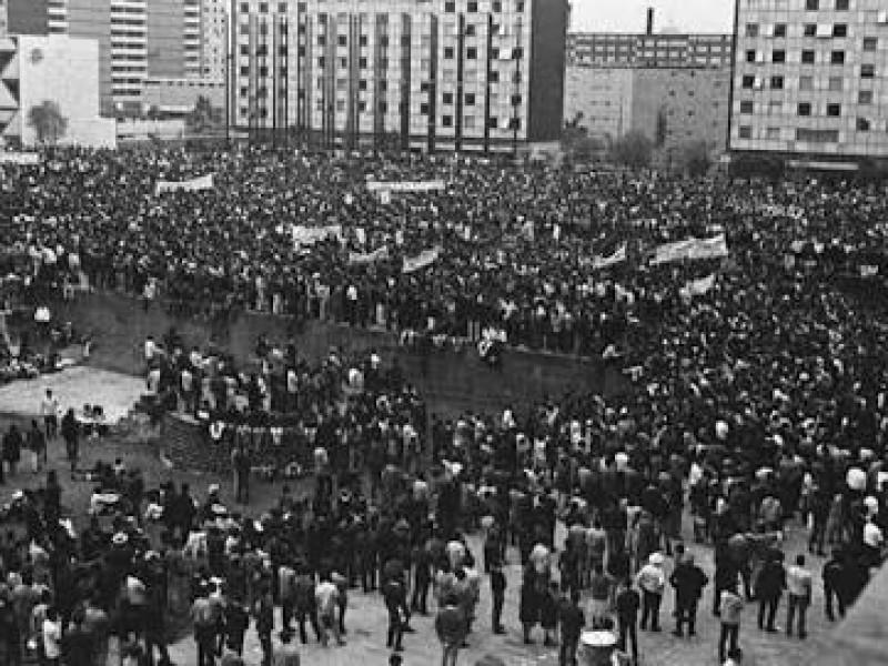 Movimiento del 68 repercutió en todo el país