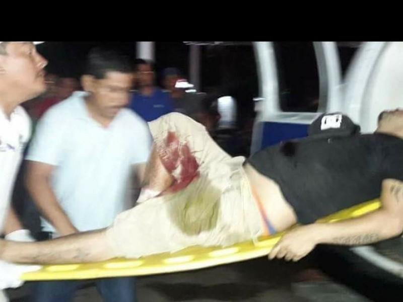 MS13 disparan contra trabajadores del ayuntamiento de Huixtla