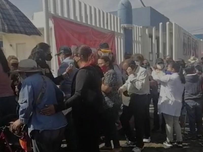 Mucha afluencia y orden se registró en Hospital del Sur