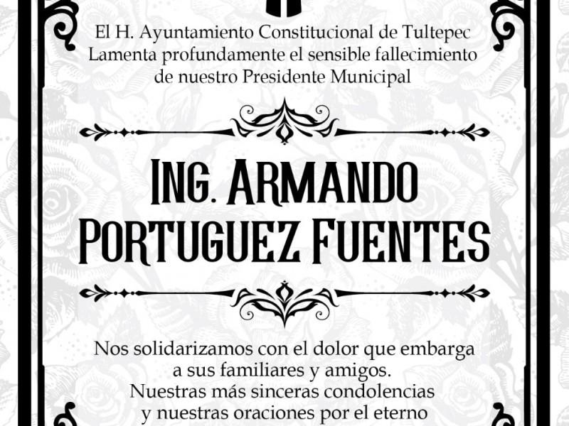 Muere alcalde de Tultepec