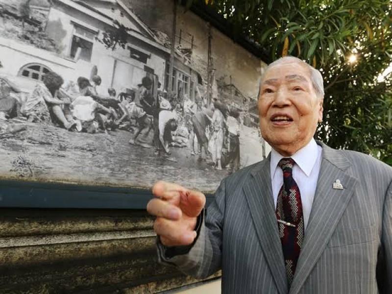 Muere con 96 años sobreviviente de la bomba atómica