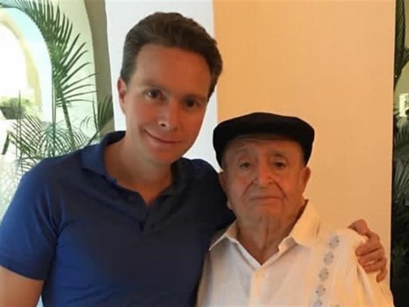 Muere Fernando Coello, abuelo de Manuel Velasco
