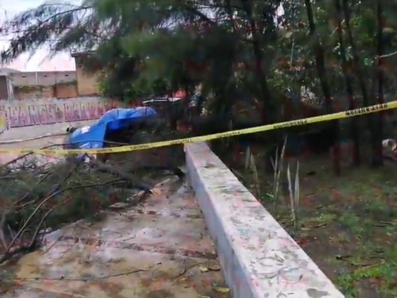 Muere hombre a causa de la fuerte lluvia este domingo