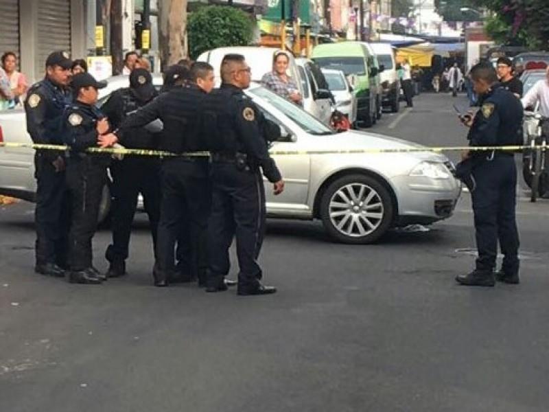 Muere hombre baleado en Iztapalapa