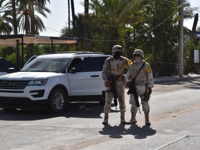 Muere hombre durante persecución armada en Navojoa