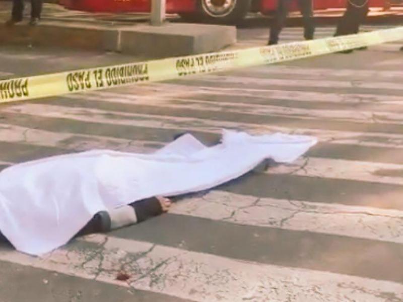 Muere hombre en Paseo de la Reforma
