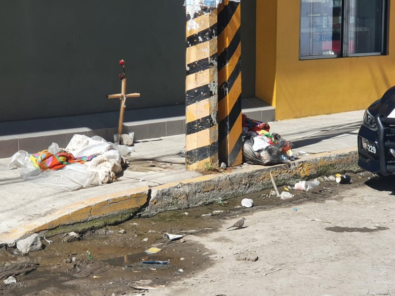 Muere hombre en situación de calle en la México 68