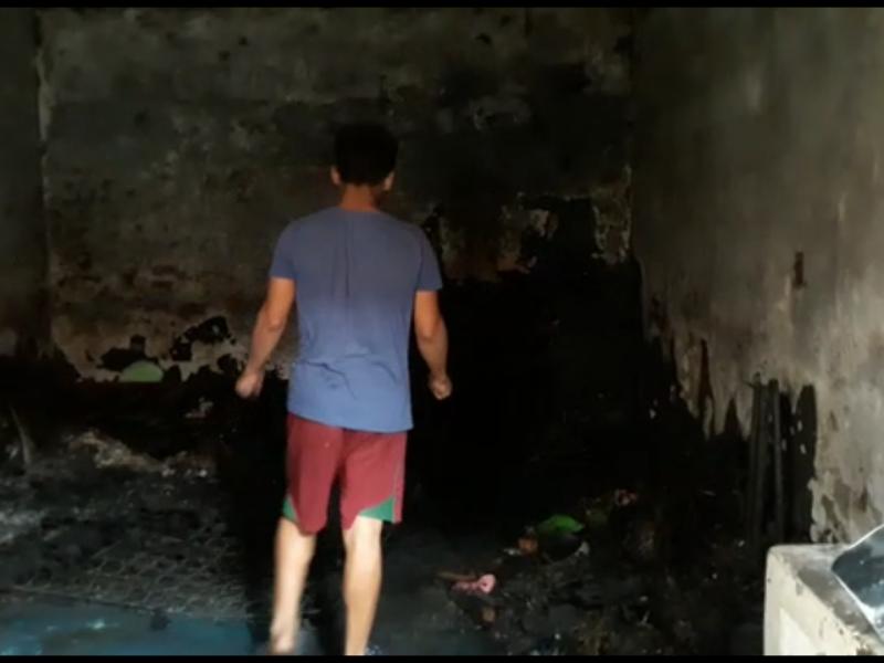Muere joven en incendio en Amapolas
