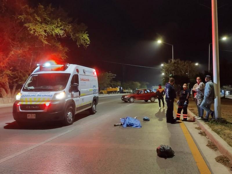 Muere menor atropellada en la Jalisco