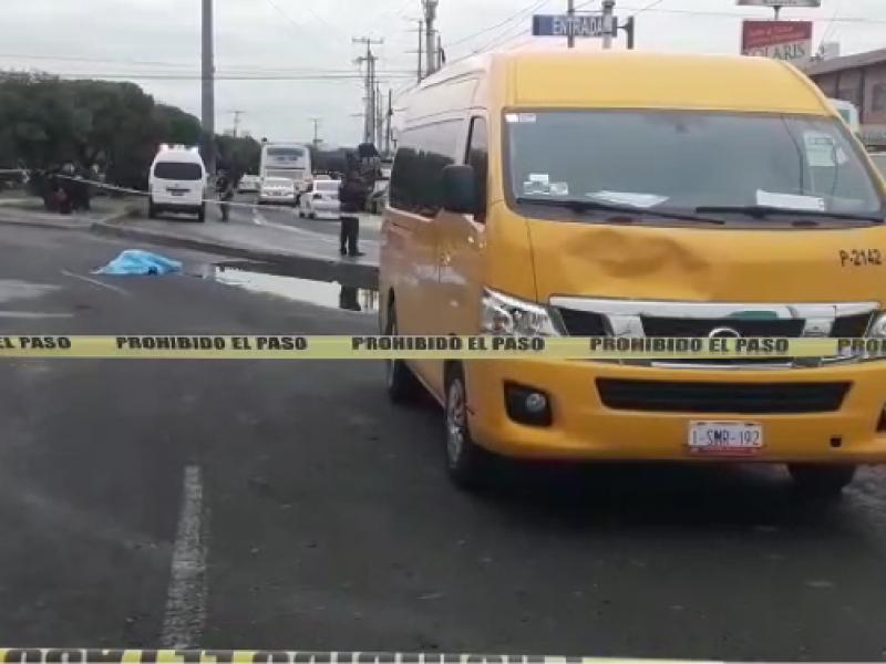 Muere mujer atropellada en Prol Quintana