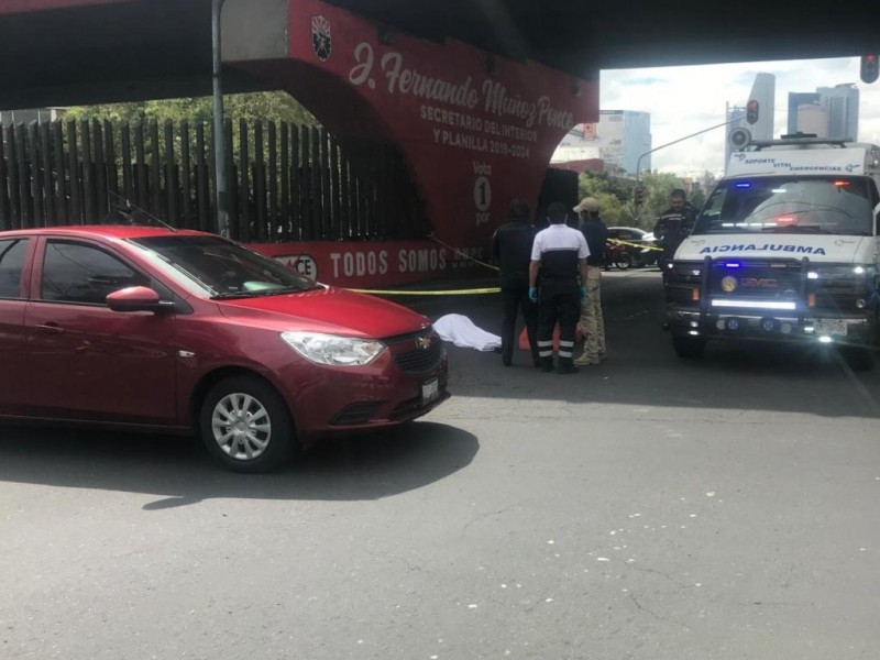 Muere mujer; se arrojó puente vehícular