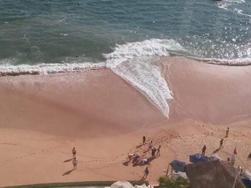 Muere mujer turista de la CDMX en playa de Acapulco