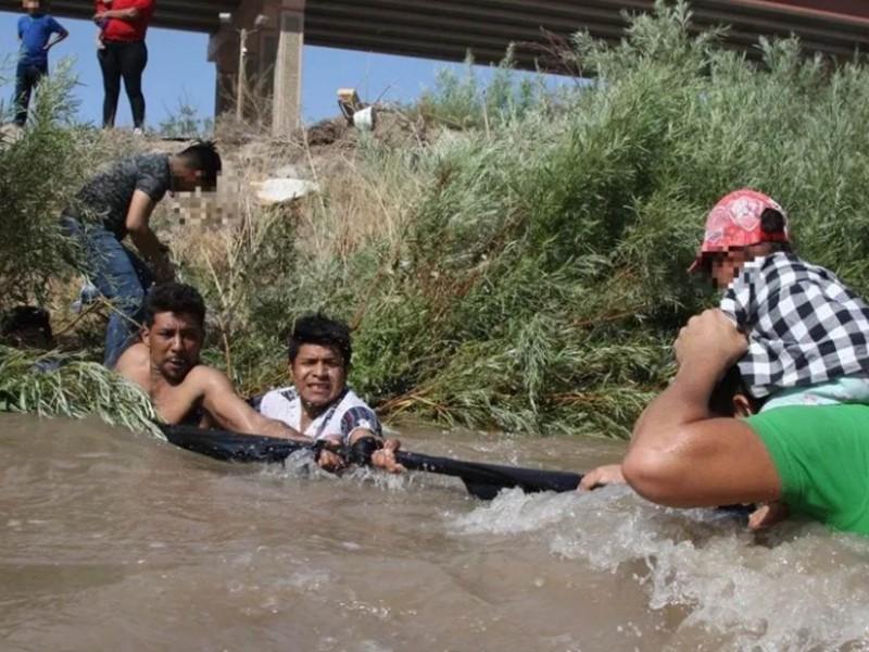 Muere niña de 9 años; intentó cruzar el Río Bravo