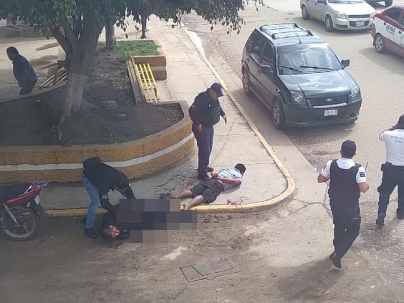 Muere policía en Xoxocotlán tras ataque con arma blanca