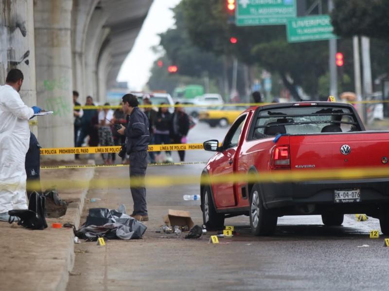 Muere presunto asaltante en balacera