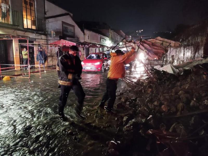 Muere una persona en Morelos tras lluvias asociadas