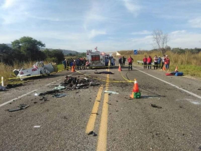 Accidente carretero deja 11 muertos en Chiapas