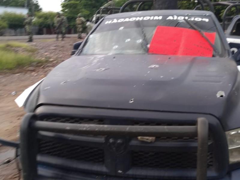 Mueren 14 policías en enfrentamiento en Aguililla