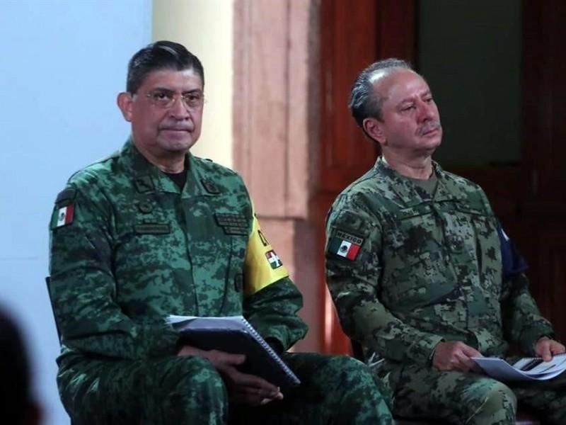Mueren cinco elementos de las Fuerzas Armadas por Covid-19