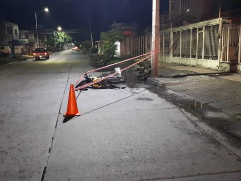 Mueren dos en accidentes nocturnos