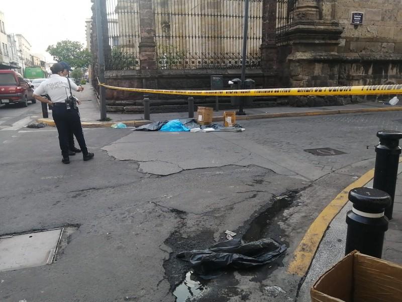 Mueren dos mujeres atropelladas por transporte público