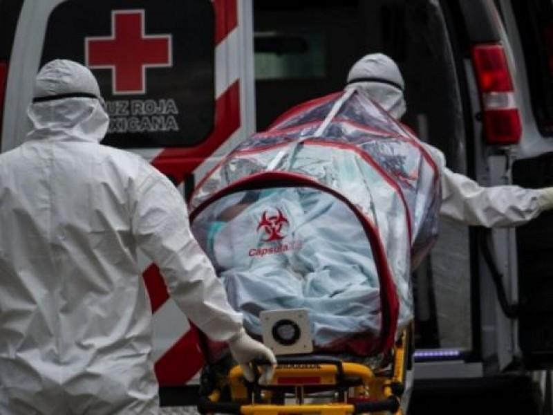 Muertes por Covid-19 recabado por INEGI son 45% más