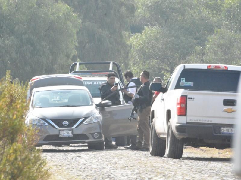 Muertos, armas y vehículos en ceja de Bravo