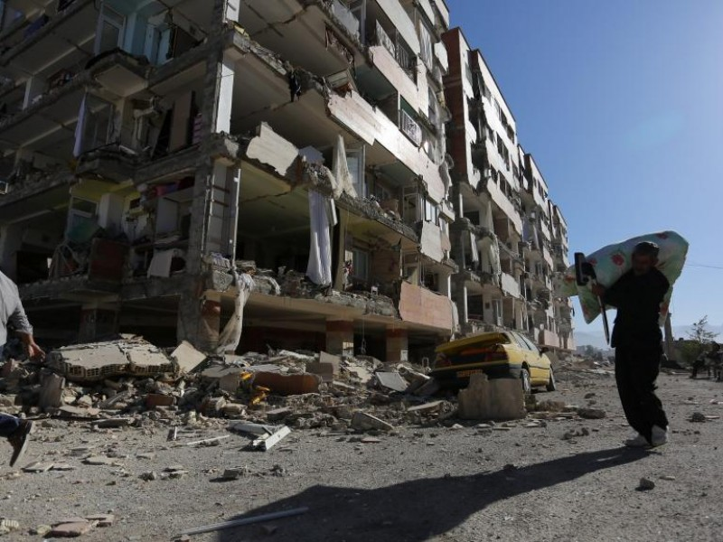 Muertos y heridos por sismo en Irán