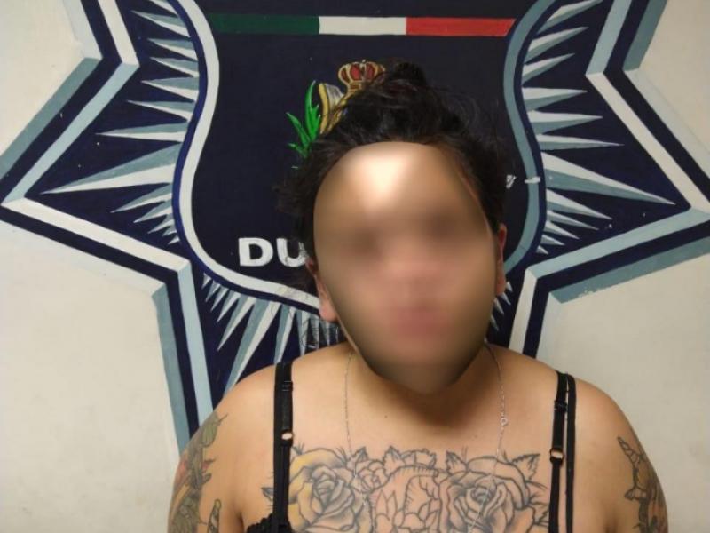 Mujer detenida por violencia familiar
