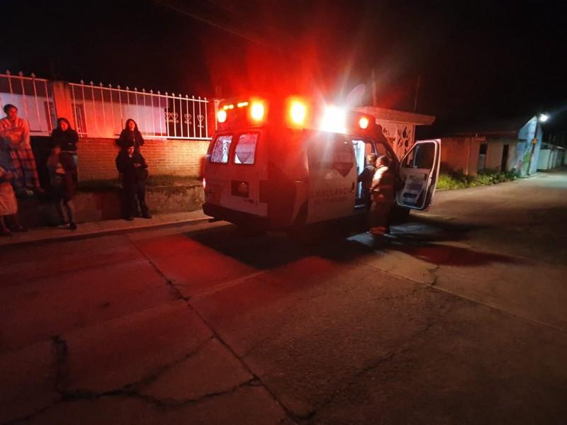 Mujer es asaltada y golpeada en San Juan Chachapa