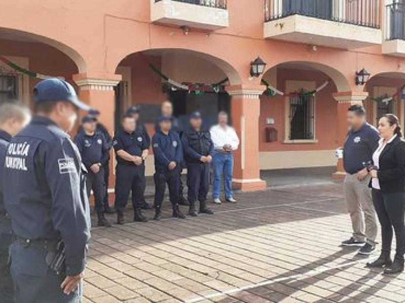 Mujer policía de San Pedro Lagunillas denuncia acoso sexual