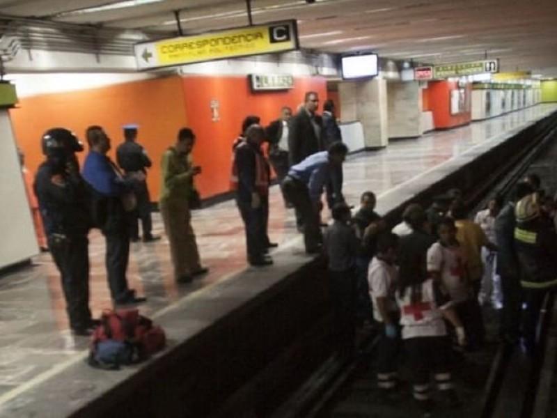 Mujer se suicida en Metro Centro Médico