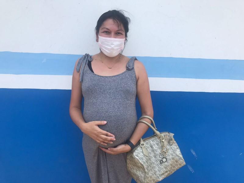 Mujeres embarazadas sin riesgo por vacuna