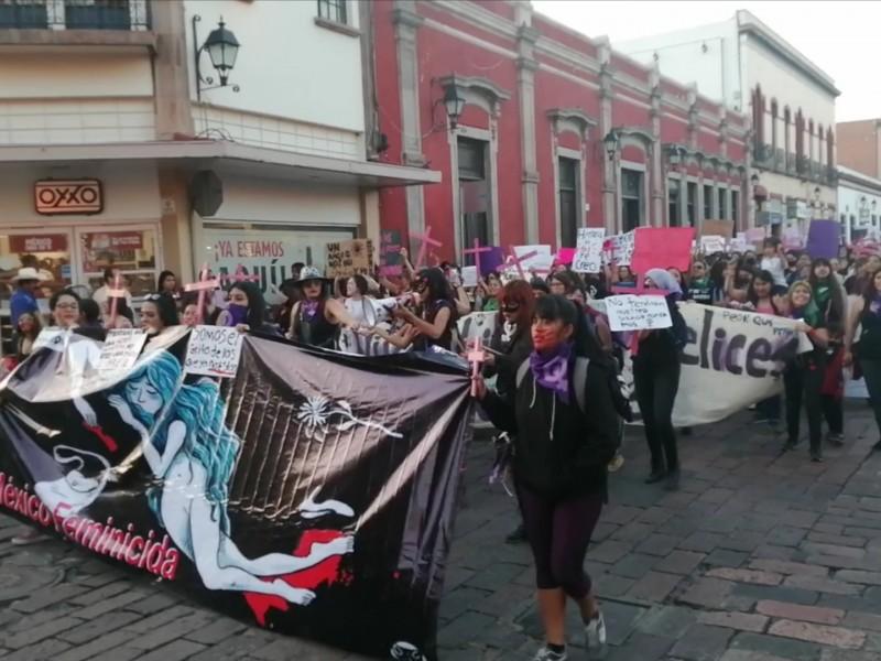 Mujeres en Querétaro piden algo a la violencia de género