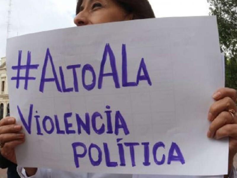 Mujeres luchan contra violencia política en razón de género