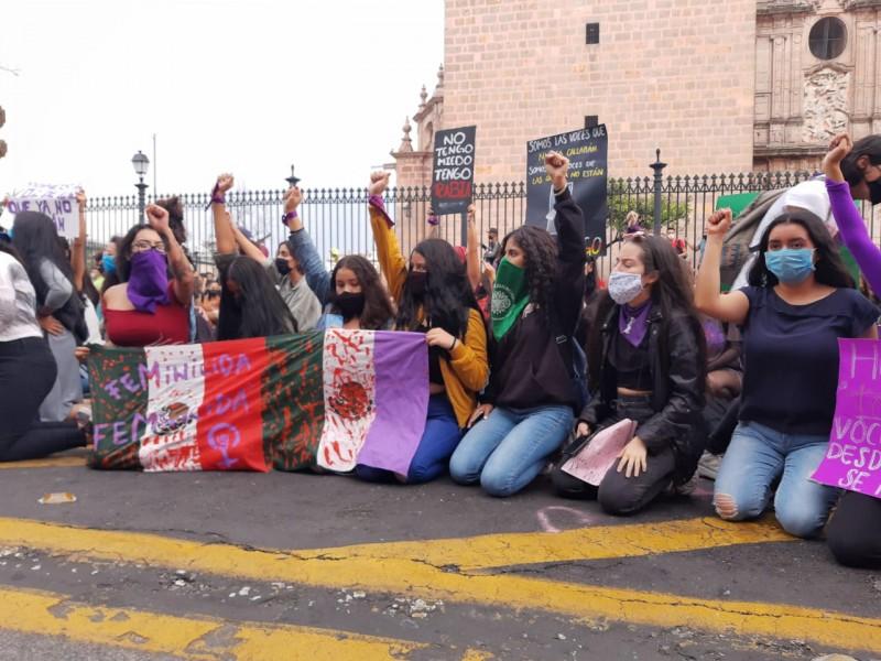 Mujeres marchan para exigir justicia por Jessica González