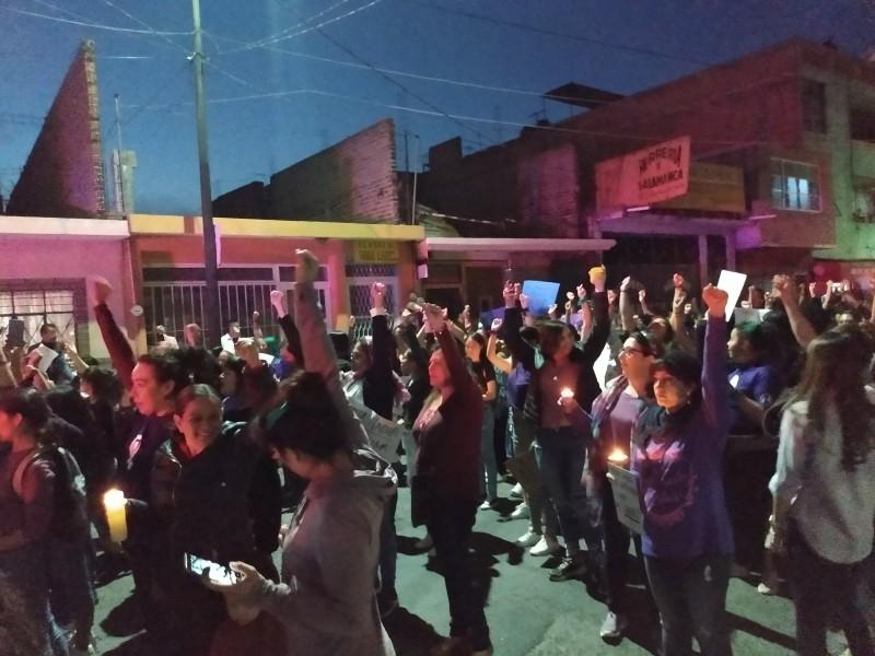 Mujeres salmantinas marchan exigiendo justicia