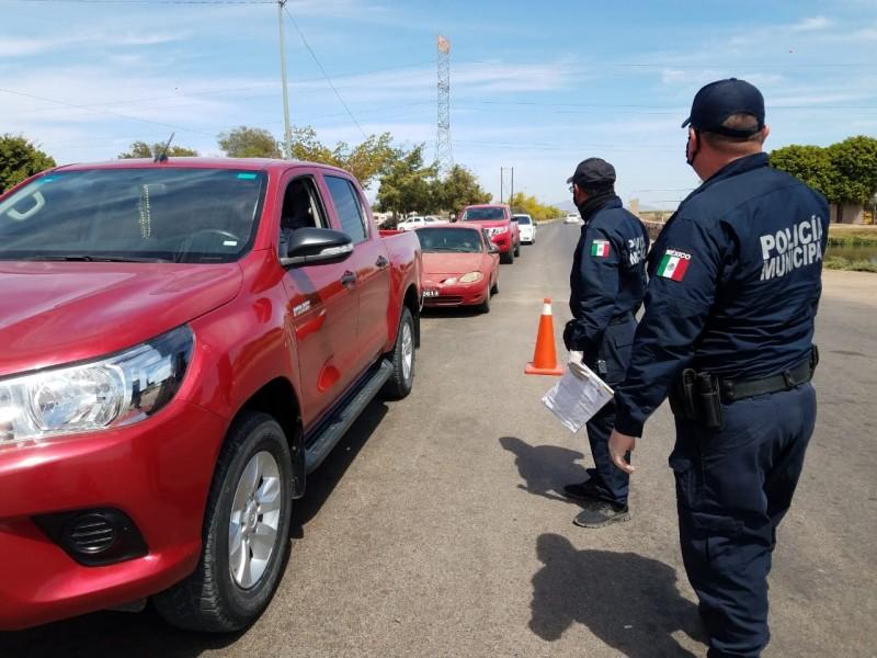 Multan a automovilistas por desobedecer recomendaciones