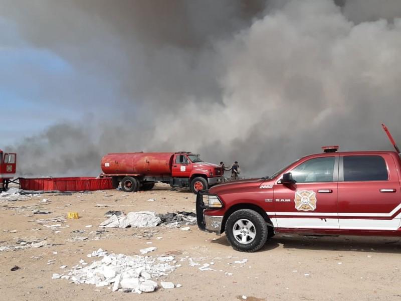 Multan a concesionaria por incendio en relleno sanitario de Hermosillo