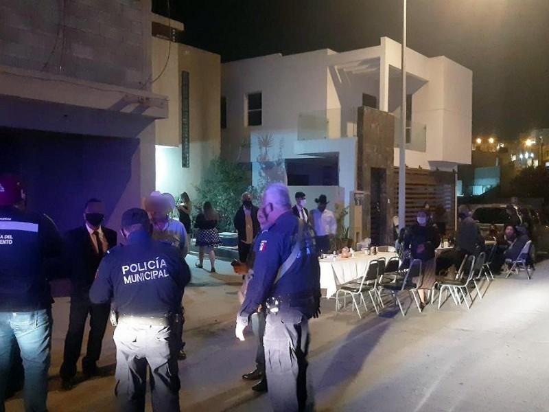 Multan con 13 mil pesos organizadores de fiestas en Hermosillo