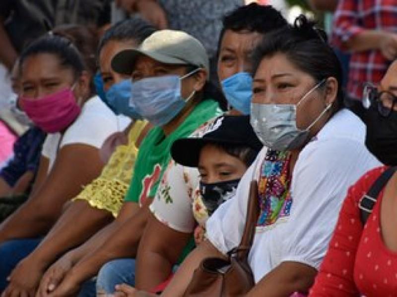 Multas de 500 pesos por no usar cubrebocas en Oaxaca