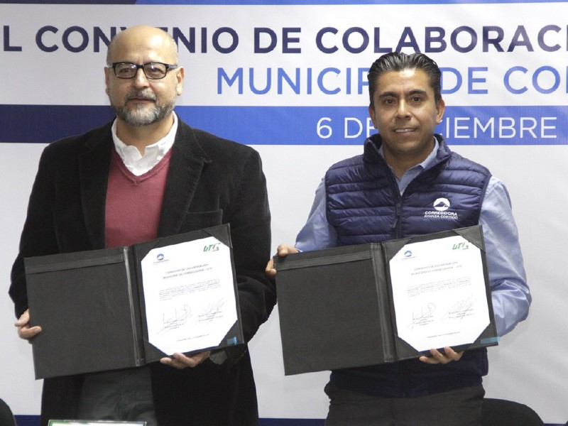 Municipio de Corregidora firmó convenio con la UTC