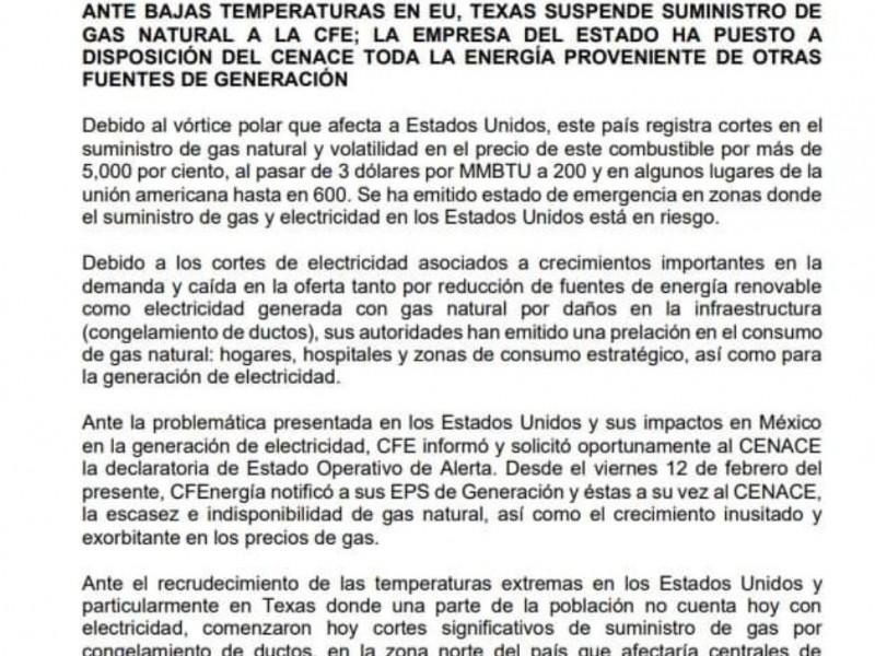 Municipios norveracruzanos reportan apagones