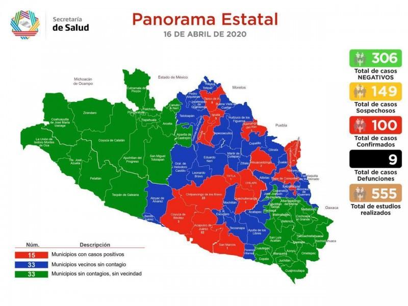 Municipios sin Covid-19 podrían reanudar labores el 18 de mayo