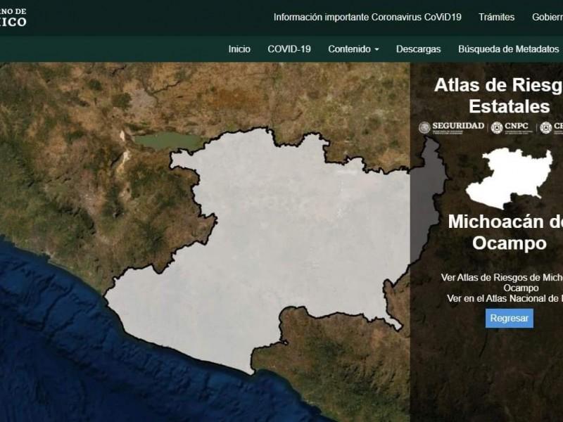 Municipios sin recursos para actualizar atlas de riesgo