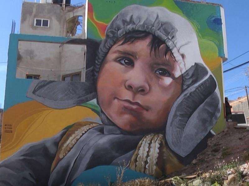 Murales colectivos ayudan a combatir problemas  sociales