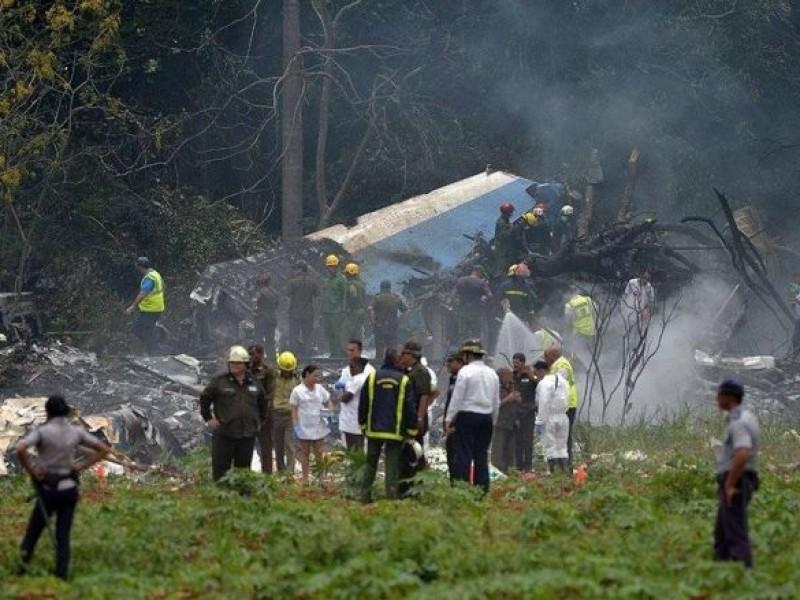 Murieron 7 mexicanos en avionazo en Cuba