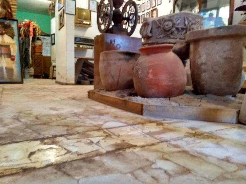 Museo comunitario San Miguel,sin recuperarse de la 19E