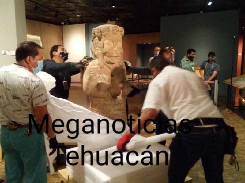 Museo de Antropología e Historia de CDMEX recibe piezas arqueológicas de Tehuacán